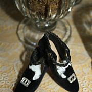 ORIGINAL Velvet Boudoir Bed Doll Shoes with buckles