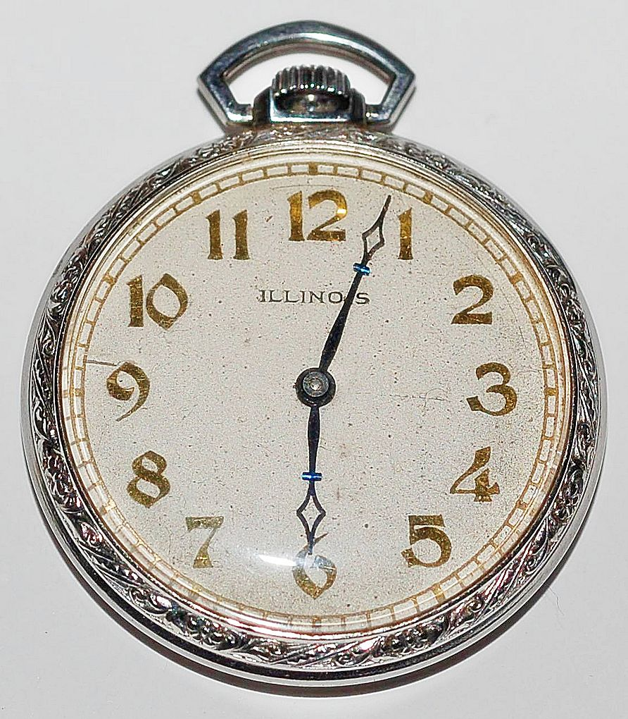 illinois pocket antique pocket watches