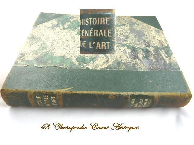 Histoire Generale de l'Art~French Art Book Volume II