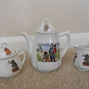 Child's Antique Tea Set