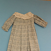 SOLD Vintage Dress with Eyelet Collar