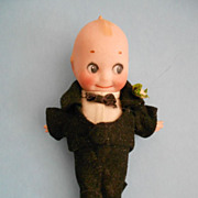 "5.5"" Signed Kewpie Groom"