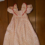 Antique Flannel Dress