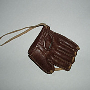 Adorable Baseball Mit, Doll Accessory