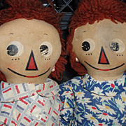 SOLD Mollye Goldman Raggedy Ann and Andy 1935-1938