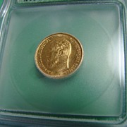 REDUCED 1904 Russian Empire MS66 Gold Ruble, Professionally Graded & Sealed