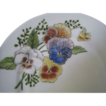 Trio of Hand Painted Plates, Signed and Dated 1887