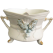 Lefton Cache Pot with Blue Grapes, #2189