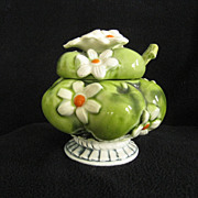 Inarco Daisies Covered Jam or Sugar Bowl, c. 1967, #E-2904