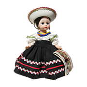 Madame Alexander International Mexico Doll, c.1964