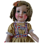 Ideal Shirley Temple Heidi Doll, c. 1959