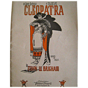 1925 College Musical Play or Operetta, Cleopatra