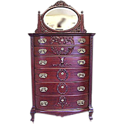 Mahogany Extra Tall Chest of Drawers
