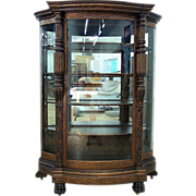Commodious Oak China Closet