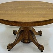 Ball & Claw Oak Dining Table