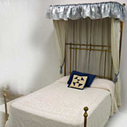 Half Tester Brass Bed