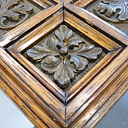 Large Ornate Oak Frame