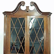 Colonial Revival Corner Cupboard