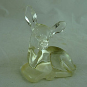 Fenton Glass Deer Figure