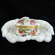 Vintage Limoges Porcelain Box