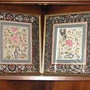 REDUCED Vintage Thai  Silk Samplers