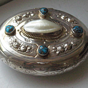 SOLD Russian Silver Box 1908