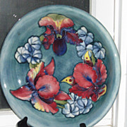 Moorcroft Orchid Bowl .
