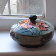 SALE Moorcroft Lidded Dish