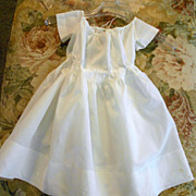 "SALE PENDING Great Civil War Reenactment Child's or Bisque doll Dress large 22"" L"