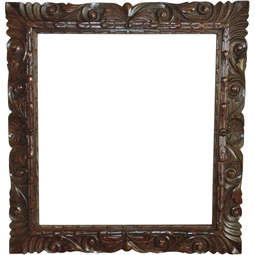 Pictures of Antique Wooden Frame Png - kidskunst.info