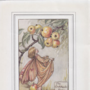 Original Three Flower Fairries Prints 1910 - 1920's  Cicely Mary Baker