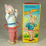 Alps Hula Bunny Wind-up Toy - MIB - 1060's