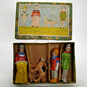 Little Orphan Annie Bisque Set - Mint in Box