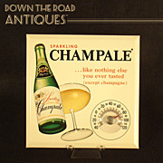 Champale Advertising Thermometer