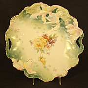 R.S. Prussia Hidden Images Hand Painted Bowl (Large)