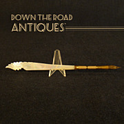 Carved Mother of Pearl Indian Dip Pen