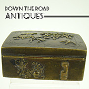 Japanese Shokudo Mixed Metals Stamp Box