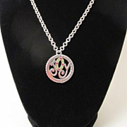 Retired Brighton JOY Necklace with Swarovski Crystals