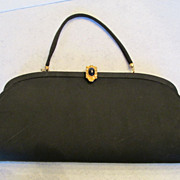 Admiral Black Evening Clutch Convertible Purse