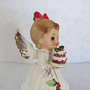 Josef Originals Holly Angel Porcelain Figurine