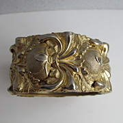 Vintage Whiting and Davis Cuff Bracelet