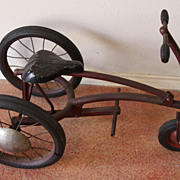 SALE The Donalson Jockey Cycle Antique Tricycle Collector