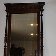 Magnificent Antique Mirror French Henry II Beveled