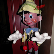 Rare Disney Pinocchio Store Display Pelham