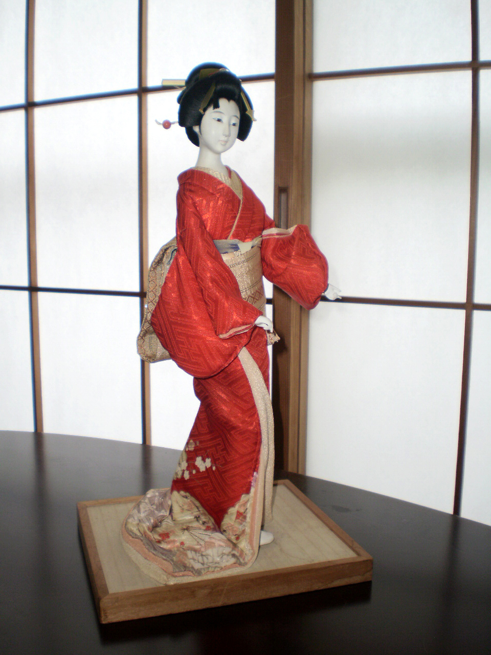Geisha Girl Doll Snazzy Japanese Dance From Tamaramomo On