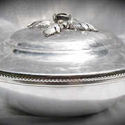 Casserole Continental Aluminum Handwrought Covered