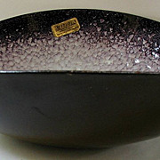 Bowl Hunting Enamel Dogs Decor Arts Spain Purple Ware