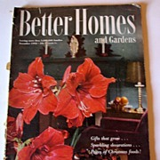 Magazine Better Homes and Gardens 1952 December