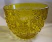 Bowl Indiana Glass Monticello Yellow Mist Comport