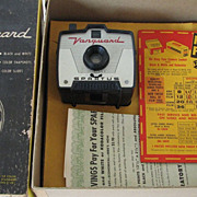 Camera Vintage Spartus Vanguard 3 Box